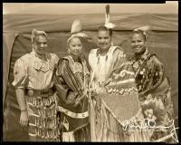 Four-American-Indian-Girls-Formal-Dress