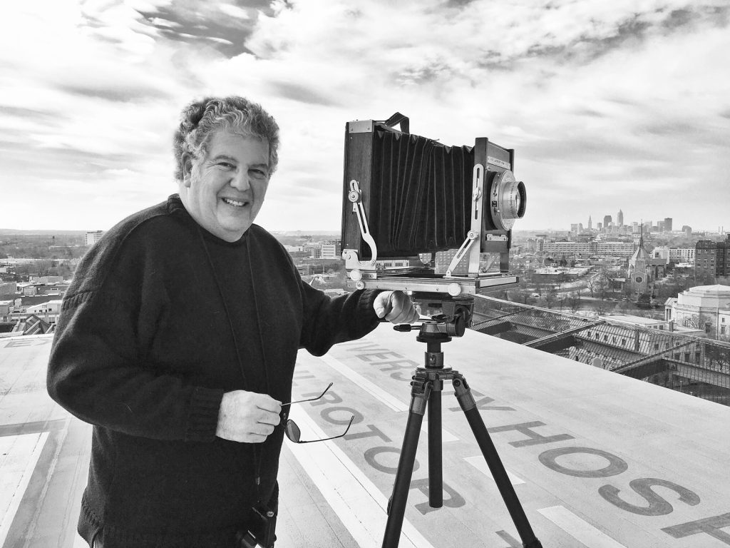Herb Ascherman and his camera